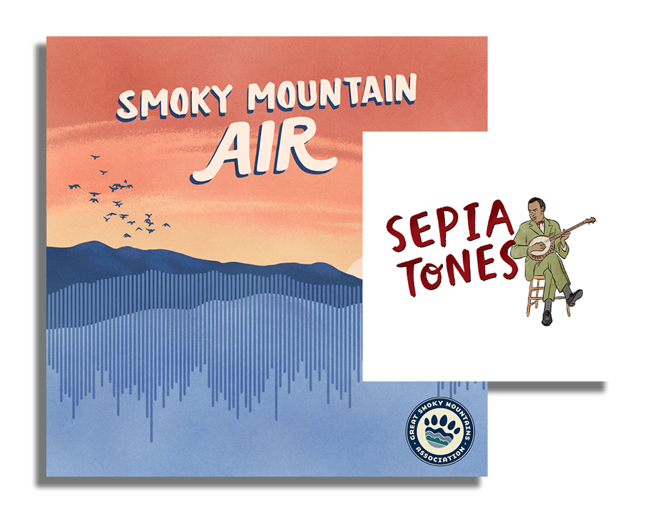 The Sepia Tones: Exploring Black Appalachian Music miniseries is made possible by Great Smoky Mountains National Park's African American Experience in the Smokies project and Great Smoky Mountains Association. It is distributed through the Smoky Mountain Air podcast available on most streaming services.