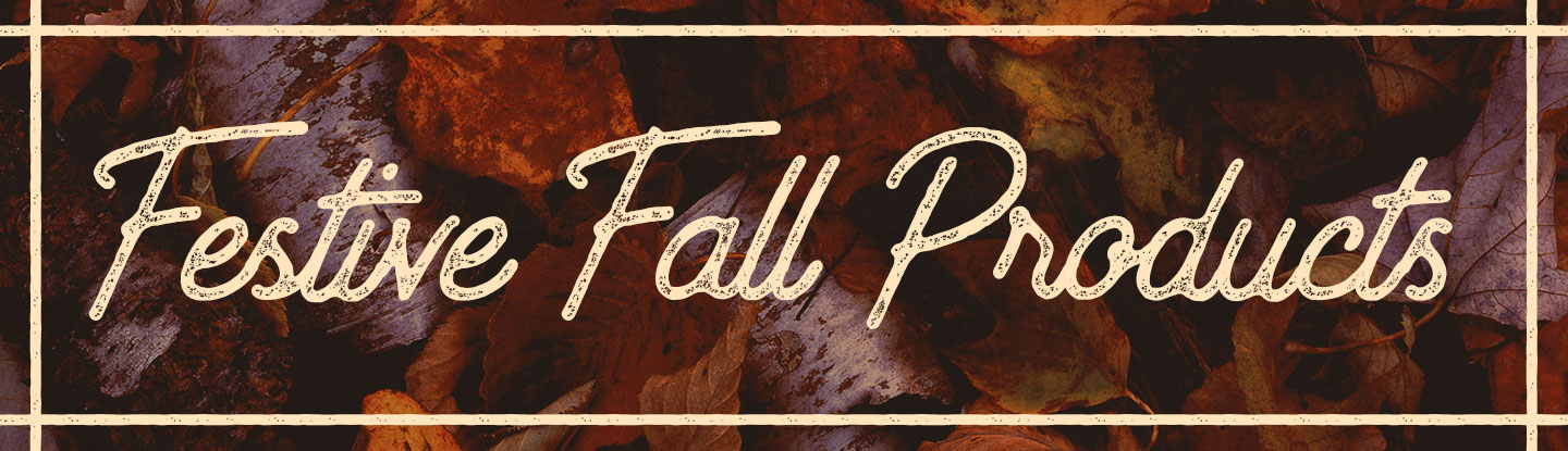 Festive Fall products