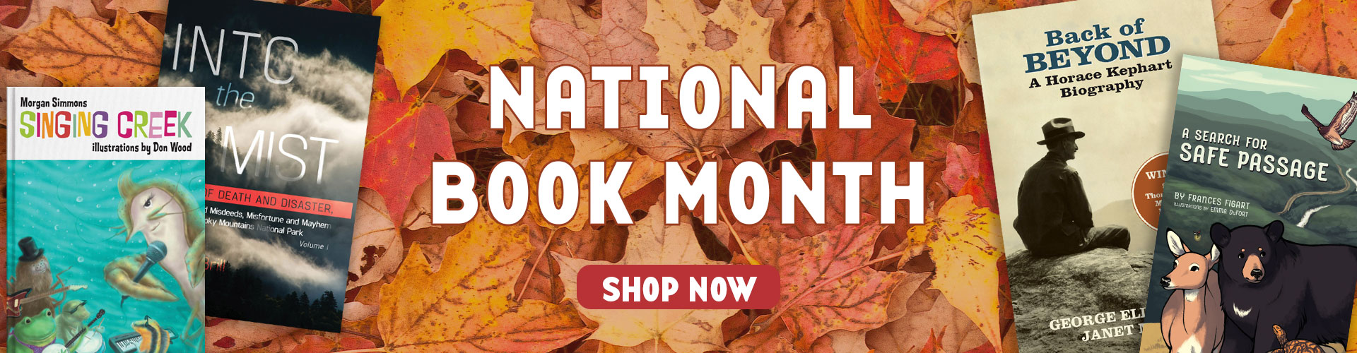National Book Month-home