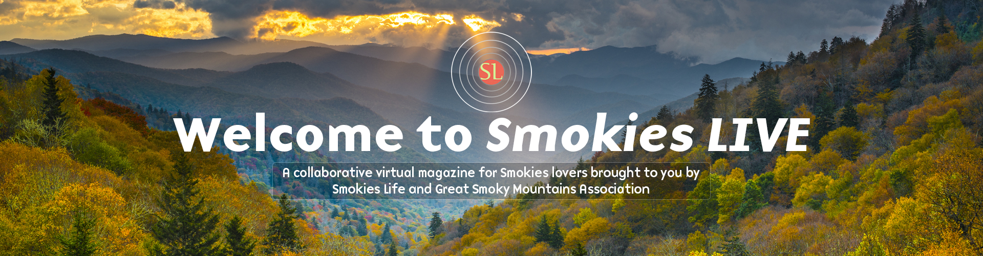 Welcome to Smokies Live - 500px Height