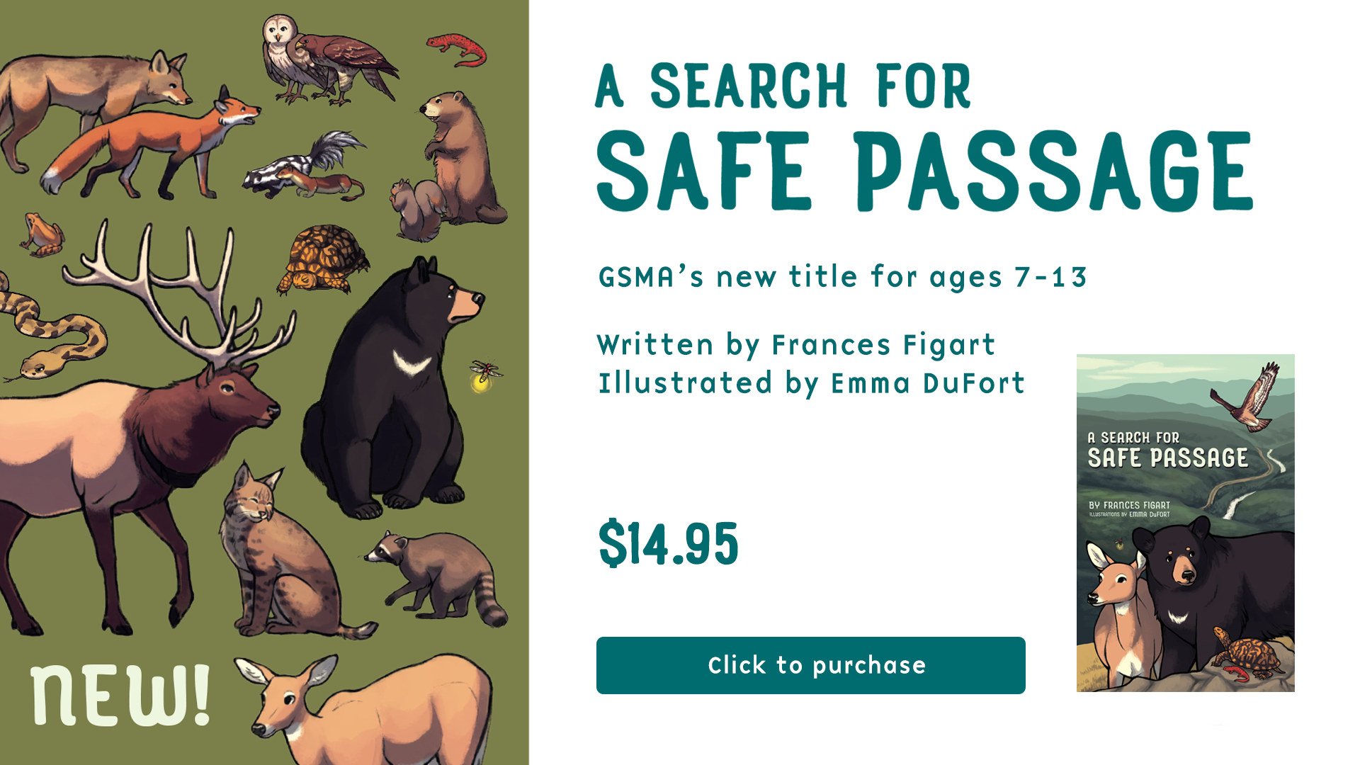 Search for Safe Passage Home banner