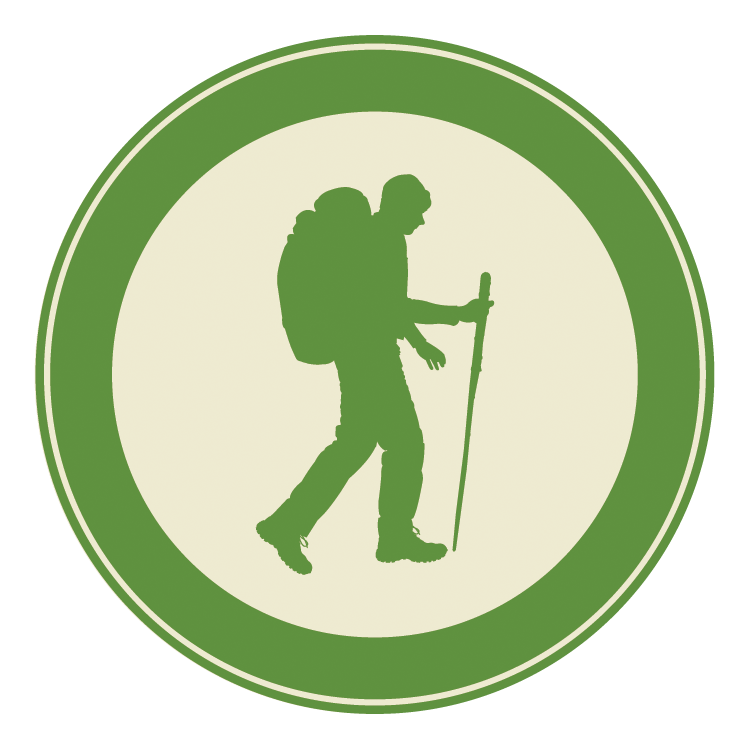 Backpacking Icon for GSMA events