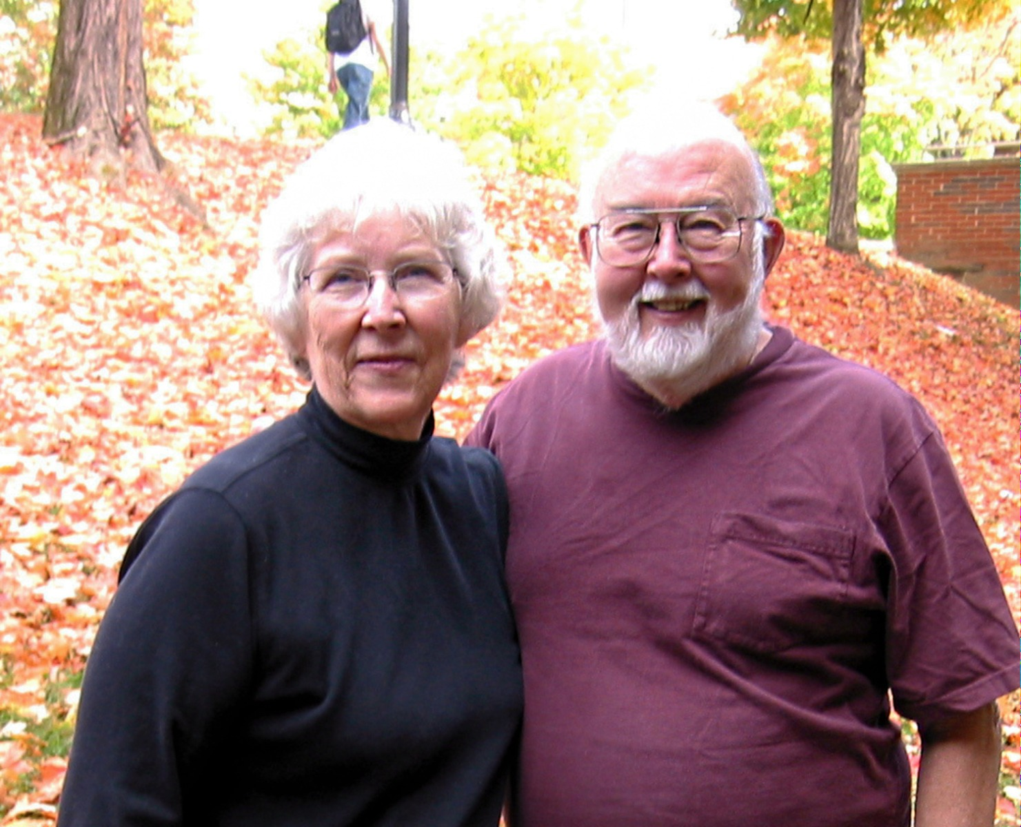 Photo of Karen Hughes and Ron Peterson